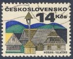 Sellos de Europa - Checoslovaquia -  Morava Valassko