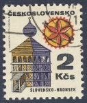 Stamps Czechoslovakia -  Slovensko Hronsek