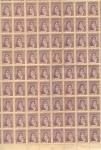 Sellos de America - Argentina -  Belgramo, Scott # 418