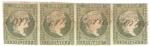 Stamps America - Cuba -  Reina Isabela II, Scott # 2