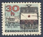 Stamps Czechoslovakia -  CKD Praha 1871-1971