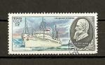 Stamps Russia -  Marina de busquedas cientificas de la U.R.S.S.