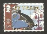 Sellos de Europa - Reino Unido -  Europa Cept, en tren