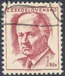 Stamps Czechoslovakia -  Ludvik Svoboda