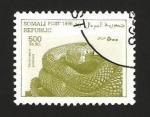 Sellos del Mundo : Africa : Somalia : serpiente