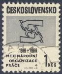 Stamps Czechoslovakia -  1919-1969  Mezinarodni Organizace Prace