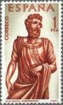 Stamps Spain -  ESPAÑA 1962 1440 Sello Nuevo Pintor Alonso de Berruguete San Pedro