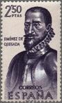 Sellos del Mundo : Europa : España : ESPAÑA 1962 1459 Sello Nuevo Forjadores de America Gonzalo Jiménez de Quesada (1509-1579)