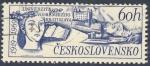 Stamps Czechoslovakia -  Univerzita Komenskeho Bratislava  1919-1969