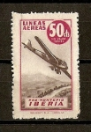 Stamps of the world : Spain :  Lineas Aereas Iberia. ( Pro-Montepio).