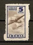Stamps : Europe : Spain :  Lineas Aereas Iberia. ( Pro-Montepio).