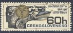 Stamps Czechoslovakia -  Universita Brno 1919-1969