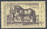 Stamps Czechoslovakia -  Mattbaus Merian 1593-1650