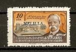 Stamps Europe - Spain -  Colegio de Huerfanos de Telegrafos.( Melilla )