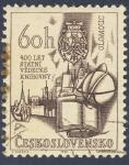 Sellos de Europa - Checoslovaquia -  400 Let Statni Vedecke Knihovny Olomouc
