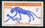 Sellos de Africa - Benin -  Leon - Hombre