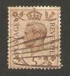 Sellos de Europa - Reino Unido -  216 - george VI