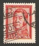 Sellos de America - Argentina -  general jose san martin