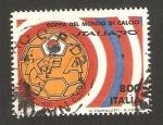 Sellos de Europa - Italia -  copa del mundo de futbol, italia 90