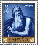 Stamps Spain -  ESPAÑA 1963 1505 Sello Nuevo José de Ribera El Españoleto San Onofre