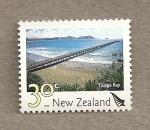 Stamps New Zealand -  Bahía de Tolaga