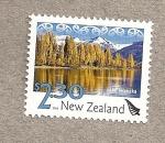 Stamps New Zealand -  Lago Wanaka
