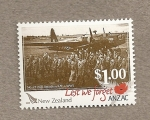 Sellos de Oceania - Nueva Zelanda -  Estampas de la II guerra mundial