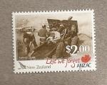 Stamps New Zealand -  Estampas de la  guerra de Korea