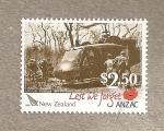 Sellos de Oceania - Nueva Zelanda -  Estampas de la  guerra  en Vietnam