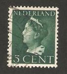 Stamps Netherlands -  Wilhelmine