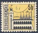 Sellos de Europa - Checoslovaquia -  Levoca