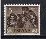 Sellos del Mundo : Europa : España : Edifil  1238   Pintores   Diego Velázquez   Día del Sello.