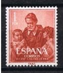 Stamps Spain -  Edifil  1297  III CEnte. de la muerte de San Vicente de Paul ( 1581 - 1660 )