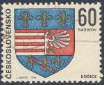 Stamps Czechoslovakia -  Escudo  Kosice