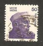 Stamps : Asia : India :  nehru, abogado y politico