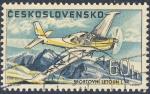 Stamps Czechoslovakia -  Sportovni Letoun L 40