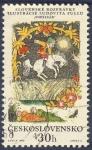 Stamps Czechoslovakia -  Slovenske ozpravky Ilustracie Ludovita Fullu  Popelvar