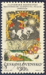 Sellos de Europa - Checoslovaquia -  Slovenske ozpravky Ilustracie Ludovita Fullu  Popelvar