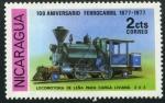 Sellos del Mundo : America : Nicaragua : Locomotora