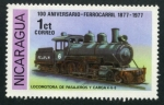 Sellos de America - Nicaragua -  Locomotora