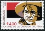 Sellos de America - Nicaragua -  XX Aniversario del FSLN