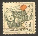 Stamps Czechoslovakia -  1737 - 25 anivº de la batalla de Dukle, General Ludvik Svoboda