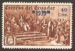 Stamps : America : Ecuador :  Cristobal Colón
