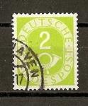 Sellos de Europa - Alemania -  Corneta Postal (Republica Federal.)