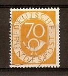 Stamps Germany -  Corneta Postal (Republica Federal.)