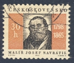 Stamps Europe - Czechoslovakia -  Malir Josef Navratil  1798-1865