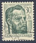 Sellos de Europa - Checoslovaquia -  Stanislav Sucharda 1866-1916