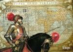 Stamps Spain -  Carlos V