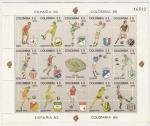 Stamps : America : Colombia :  Clubes de Futbol