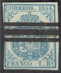 Stamps : Europe : Spain :  Escudo, Scott #33